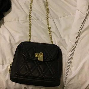 Gold mini purse